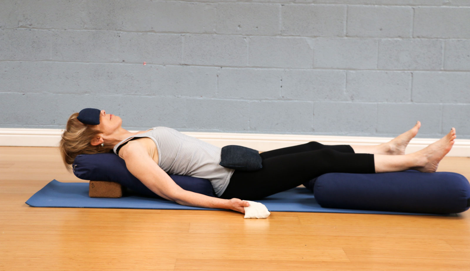 Restorative Yin Nandi Yoga
